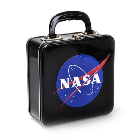 NASA Embossed Lunch Box