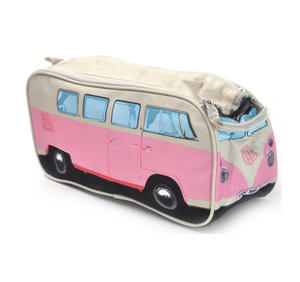 Volkswagen Pink Camper Washbag /  Make Up Bag