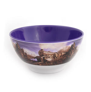 Chocolate Train Land - Foodscape by Carl Warner - 15cm Diameter Melamine Bowl Thumbnail 3