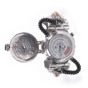 Steam Powered Entropy Calibrator EER Watch - The Steampunk Pewter Wristwatch