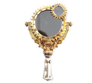 Lady Talbot's Retrospector Hand Mirror - Steampunk Handmirror Thumbnail 5