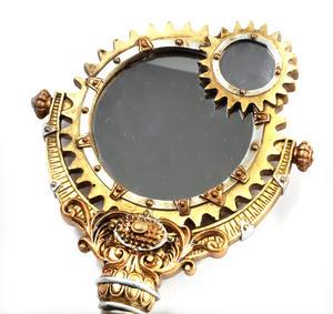Lady Talbot's Retrospector Hand Mirror - Steampunk Handmirror Thumbnail 6