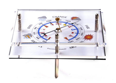 Standing Barometer Flag Dial WEA 150F - ACR
