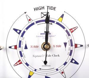 Standing Flag Dial Tide Clock 150mm x 150mm TC 150 C -ACR Thumbnail 1
