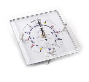 Standing Flag Dial Tide Clock 150mm x 150mm TC 150 C -ACR Thumbnail 2