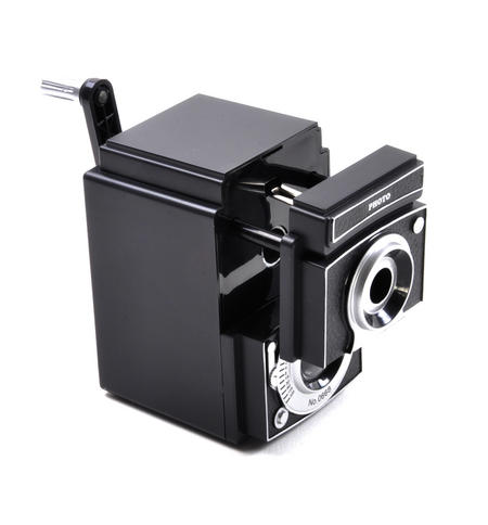 Retro Rolleiflex Camera Pencil Sharpener
