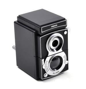 Retro Rolleiflex Camera Pencil Sharpener Thumbnail 4