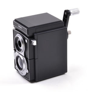 Retro Rolleiflex Camera Pencil Sharpener Thumbnail 5