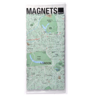 London City Map Fridge Magnet Puzzle - Learn the City Map Knowledge with Fridge Magnets