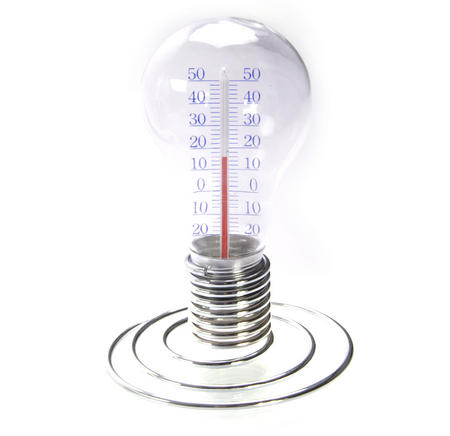Light Bulb Thermometer
