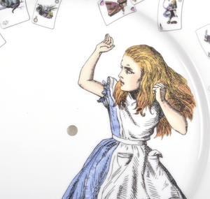 Alice in Wonderland Two Tier Cake Stand Thumbnail 6