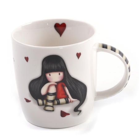 Gorjuss Mug  - The Collector in Gift Box