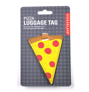 Pizza Luggage Tag / Bag Identifier