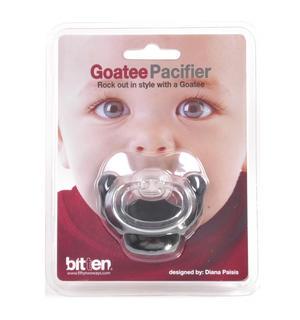 Dummy Pacifier - Goatee