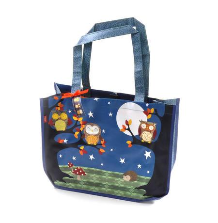 Night Owls  - Woven Shopper Bag By Santoro