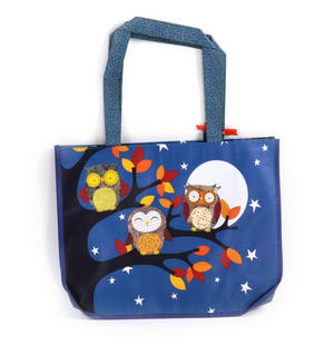 Night Owls  - Woven Shopper Bag By Santoro Thumbnail 2