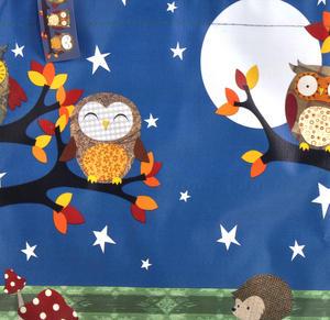 Night Owls  - Woven Shopper Bag By Santoro Thumbnail 4