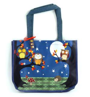 Night Owls  - Woven Shopper Bag By Santoro Thumbnail 5