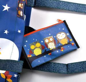 Night Owls  - Woven Shopper Bag By Santoro Thumbnail 7