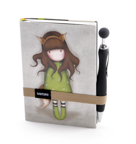 The Fox - Gorjuss Premium Journal with Pen
