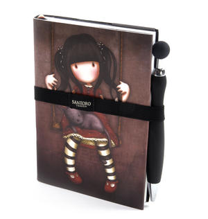 Ruby - Gorjuss Premium Journal with Pen Thumbnail 1