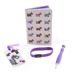 Scottie Dogs Premium Journal with Pen by Santoro Thumbnail 2
