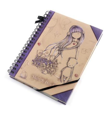 Dear Alice Sketchbook Journal by Gorjuss