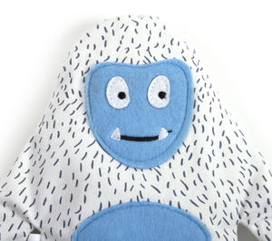 Huggable Yeti - Microwavable Soft Snow Monster