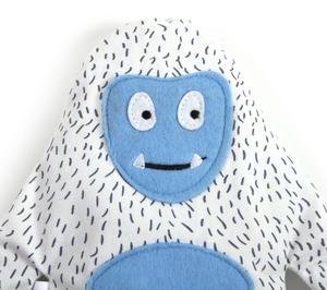 Huggable Yeti - Microwavable Soft Snow Monster