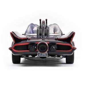 Batmobile Model - Classic 1966 with Batman & Robin Bendable Action Figures Thumbnail 2