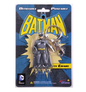Batman Bendable Poseable Key Chain DC Comics