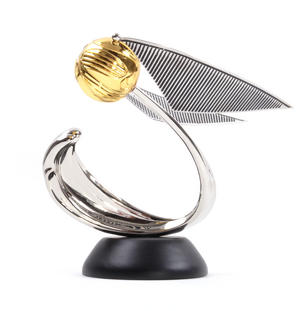 Golden Snitch Sculpture Harry Potter Replica Noble Collection Thumbnail 4