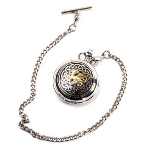Welsh Dragon Cymru Wales Pocket Watch