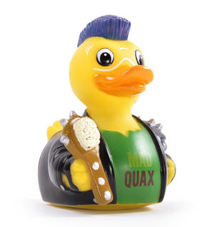 Mad Quax The Pond Warrior Rubber Duck - Celebriduck for Mad Max Fans