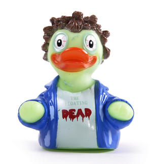 Floating Dead Rubber Duck - Celebriduck for Walking Dead Zombie Fans