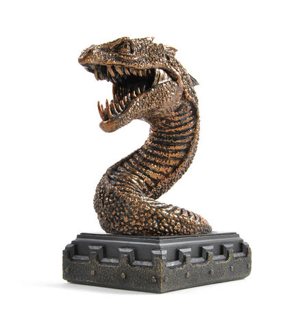 Harry Potter Basilisk Bookend Noble Collection