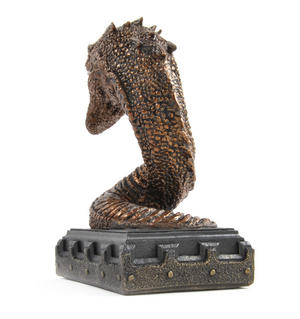 Harry Potter Basilisk Bookend Noble Collection Thumbnail 3