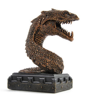 Harry Potter Basilisk Bookend Noble Collection Thumbnail 4