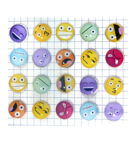 Emoji Drawing Pins / Emojinal Push Pins