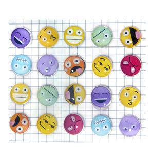 Emoji Drawing Pins / Emojinal Push Pins Thumbnail 1