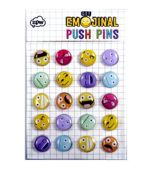 Emoji Drawing Pins / Emojinal Push Pins Thumbnail 2