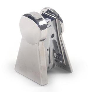 Keyhole Polished Steel Stapler