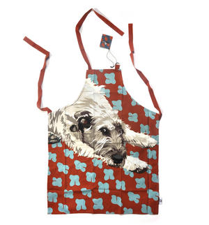Wolfhound Apron by Leslie Gerry