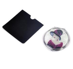 Amelia - Simply Elegant Maranda Compact Mirror with Swarovski Crystallised Elements Thumbnail 4