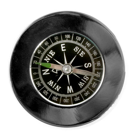 Compass Chrome Paperweight