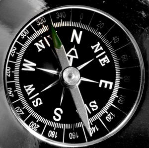 Compass Chrome Paperweight Thumbnail 4