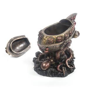 Leviathan's Escape Steampunk Sculpture 20 cm Thumbnail 8