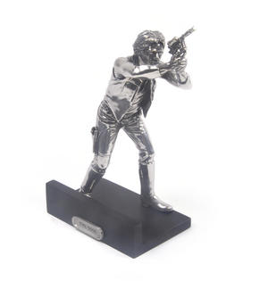 Han Solo - Star Wars Ltd Edition Figurine by Royal Selangor Thumbnail 4