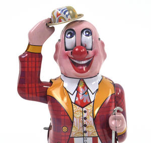 Dandy Clown - Classic Clockwork Collector's Toy Thumbnail 7