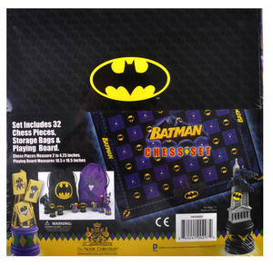 Batman Dark Knight vs The Joker Chess Set by Noble Collection Thumbnail 3